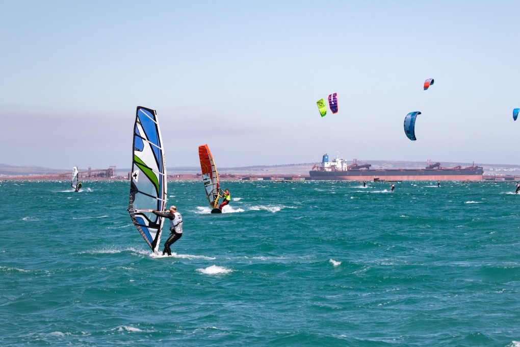 Kite-surfing Wind-surfing Langebaan West Coast South Africa Holiday Accommodation Always Summer B&B
