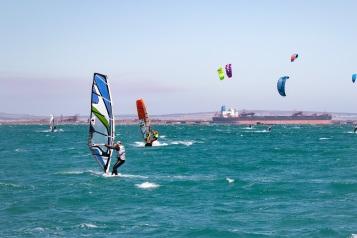 Kite-surfing Wind-surfing Langebaan West Coast South Africa Holiday Accommodation Always Summer B&B