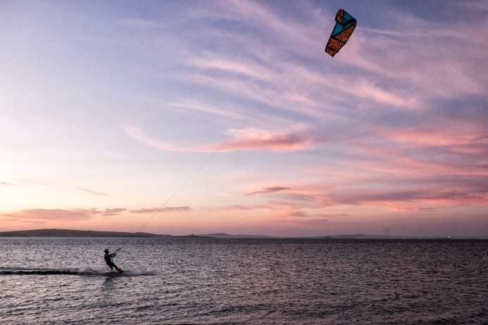 Langebaan West Coast South Africa Always Summer B&B Accommodation Kite-surfing