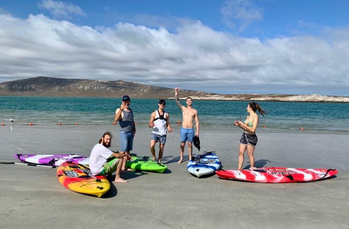 Always Summer B&B Holiday Accommodation Langebaan Lagoon Beach Kite-Surfing
